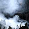 0626Fire3.jpg Helicopter water drop Bison Dr fire in Boulder, 2012. CAMERA/ MARK Leffingwell