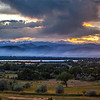 Panoramic viewpoint of Boulder and the smoke plume from the Flagstaff Fire taken Tuesday evening.<br /> Photo courtesy of Dan Levine