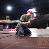 FLATIRONS137.JPG FLATIRONS2.jpg Fernando Lopez of ReSource Colorado puts down carpeting in the main chapel auditorium of Flatirons Community Church in Lafayette on Thursday March 17, 2011. <br /> Photo by Paul Aiken