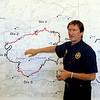 "Jim Thomas, Incident Commander, talks about the latest details on Saturday. He expects the fire to be contained by 6 p.m. on September 13, 2010.<br /> Fire fighting staff was busy at the Fourmile Mile Fire Incident center on Saturday.<br /> For  videos  and photos relating to the fire,  go to  <a href=""http://www.dailycamera.com"">http://www.dailycamera.com</a>.<br /> Cliff Grassmick / September 11, 2010"