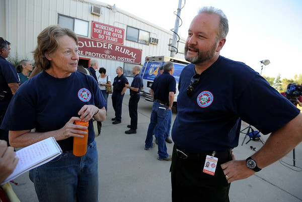 "Fire personnel, Gail Loveman and Paul Mundinger talk about their experience with the Fourmile Fire.<br /> For more videos and photos from the fire, go to  <a href=""http://www.dailycamera.com"">http://www.dailycamera.com</a>.<br /> September 11, 2010/ Cliff Grassmick"