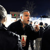 "Fracking004.JPG Jonathan Sawyer argues with anti-fracking supporters about the benefits of tracking during meeting on fracking on Thursday, Dec. 13, at the County Courthouse on Pearl Street in Boulder. For more photos and video of the tracking protest go to  <a href=""http://www.dailycamera.com"">http://www.dailycamera.com</a><br /> Jeremy Papasso/ Camera"