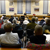 20121213_OIL_AND_GAS_016.jpg County Commissioners make statements to a packed audience during a meeting, Thursday, Dec. 13, 2012, at the Boulder County Courthouse.<br /> (Matthew Jonas/Times-Call)