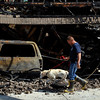 20110705_FIRE_FREDERICK_05.JPG Longmont Fire Department firefighter Mike Manzo and K-9 Shadow investigate a fire at 4895 Wren Court in Frederick on Tuesday, July 5, 2011. Frederick-Firestone Protection District responded shortly before midnight Monday to the blaze, which also damaged 4897 Wren Court. (Richard M. Hackett/Times-Call)