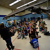 KRISTOPHER RADDER - BRATTLEBORO REFORMER<br /> Marisa Pisani talks about how the students of NewBrook Elementary School worked together to build a falcon time capsule.
