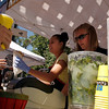 "Angelique Houle and Andrea Milholm, right, serve up ""fast food of the Middle East"" from Falafel King on Saturday, Sept. 25, during the Fall Festival on Pearl Street.<br /> For photo gallery and video, go to  <a href=""http://www.dailycamera.com"">http://www.dailycamera.com</a><br /> Daniel Clements / For the Camera"
