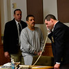 KRISTOPHER RADDER - BRATTLEBORO REFORMER<br /> Michael Lenois, 49, and Jonathan Lenois, 25, both appeared in Windham Superior Court Criminal Division on Monday afternoon. The two Brattleboro men are facing five felony charges: aggravated assault with a deadly weapon, aggravated assault with a weapon, burglary into an occupied dwelling while armed with a dangerous or deadly weapon, assault and robbery with a weapon, and first-degree unlawful restraint. They're also facing a misdemeanor charge of reckless endangerment.
