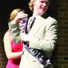 Alex Hauptman receives the Mr. Talent of 2014 award.