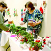 Zionsville area residents Roger and Beth Bower shop Saturday, Dec. 7, at the Friends of the Hussey-Mayfield Memorial Public Library's holiday gift boutique. Beth said they found decorations and gifts to purchase.