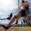 "Several people took advantage of the warm Saturday by playing at Scott Carpenter Park.<br /> For more photos and a video at Scott Carpenter Park, go to  <a href=""http://www.dailycamera.com"">http://www.dailycamera.com</a>.<br /> Cliff Grassmick/ May 7, 2011"