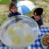 "Maya Hladisova, left, and Dafna Margalit, fifth-graders at Eisenhower Elementary, have a lemonade stand open for business at Scott Carpenter Park.<br /> Several people took advantage of the warm Saturday by playing at Scott Carpenter Park.<br /> For more photos and a video at Scott Carpenter Park, go to  <a href=""http://www.dailycamera.com"">http://www.dailycamera.com</a>.<br /> Cliff Grassmick/ May 7, 2011"