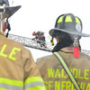 KRISTOPHER RADDER — BRATTLEBORO REFORMER<br /> Several departments responded to a two-alarm fire at Soundview Paper Company, in Putney, Vt., on Sunday morning. No injuries were reported.
