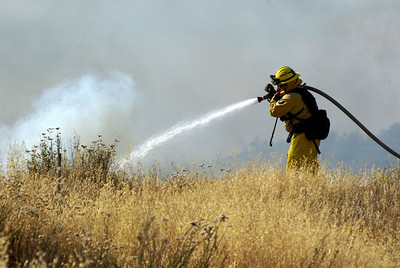 Fire Menifee, CA 06-08-09 Holland Road