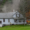 KRISTOPHER RADDER — BRATTLEBORO REFORMER<br /> Several crews responded to a two-alarm fire at 299 Huckle Hill Road, in Vernon, Vt., on Tuesday, Oct. 29, 2019. No injuries were reported but a cat was missing.