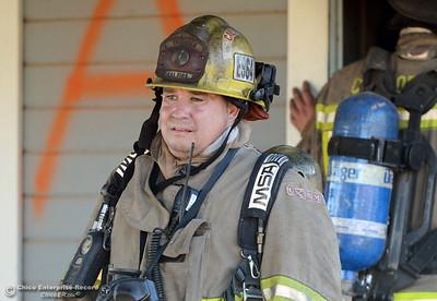 Cal Fire Live Burn Training
