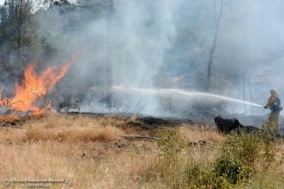 Photos: Calernbar/Wayland Fire Monday