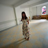 KRISTOPHER RADDER — BRATTLEBORO REFORMER<br /> Jamie Mohr talks about a newly renovated space in the basement of the First Baptist Church, in Brattleboro, that will be used to host films and different art exhibits.