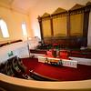 KRISTOPHER RADDER — BRATTLEBORO REFORMER<br /> The inside of the First Baptist Church on Tuesday, July 30, 2019.