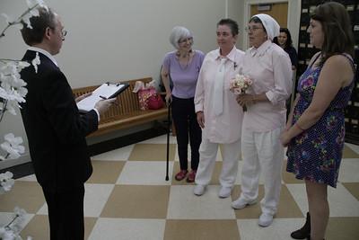 First Humboldt County same-sex wedding, July 2, 2013