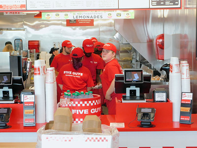 Five Guys opens in Medina Township