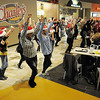 "BE1216flash08<br /> Dancers from Artistic Fusion Dance Academy and  Break EFX  formed a flash mob of over 200 people dancing to Mariah Carey's song ""All I want for Christmas is you"" for shoppers in the food court of FlatIron Crossing mall on Thursday. <br /> December  9, 2010<br /> staff photo/David R. Jennings"