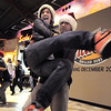 "BE1216flash02<br /> Break EFX dancers Crista Lewis and Herb Neil begin dancing leading over 200 people to dance in a flash mob to Mariah Carey's song ""All I want for Christmas is you"" in the food court of FlatIron Crossing mall on Thursday. Dancers in the flash mob were from Artistic Fusion Dance Academy and Break EFX Boulder/Denver. <br /> December  9, 2010<br /> staff photo/David R. Jennings"
