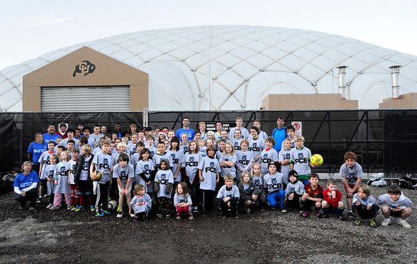 "The Football Club Boulder members pose for a photo on Sunday, Dec. 18, at the University of Colorado's Athletic Bubble just north of Folsom Field on the CU campus in Boulder. The two club teams BC Force and the Boulder Athletic have merged teams to diversify and bring all Boulder County ethnicities together. For more photos and video  of the event go to  <a href=""http://www.dailycamera.com"">http://www.dailycamera.com</a><br /> Jeremy Papasso/ Camera"