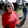 """Lynn and Mike Walker of Colorado Mountain Ranch lost their home and other buildings in the Four Mile Canyon Fire.<br /> For a video and photos of Colorado Mountain Ranch, go to  <a href=""""http://www.dailycamer.com"""">http://www.dailycamer.com</a>.<br /> Cliff Grassmick / August 26, 2011"""
