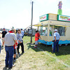 Globe/T. Rob Brown<br /> There's usually a line in front of Pineapple Whip Friday morning, July 19, 2013, during the Four State Farm Show near Pittsburg, Kan.