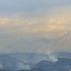 The Fourmile Canyon Fire in Boulder County as seen on Wednesday from the US Forest Service Airtanker base at Rocky Mountain Metro Airport. <br /> <br /> September 8, 2010<br /> staff photo/David R. Jennings