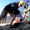 "Seth Crane, left, and Radford Dubois, plant trees in the burn area.<br /> The Boulder County Bar Association organized a tree planting effort on Saturday in the area burned by the Fourmile Fire.<br /> For more photos and a video of the tree planting, go to  <a href=""http://www.dailycamera.com"">http://www.dailycamera.com</a>.<br /> Cliff Grassmick / April 21, 2012"