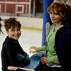 "Sam Ghooshyan, 10, gets some skating advice from his mother, Sona Manuni, during an open ice session at the Boulder Valley Ice Rink in Superior.<br /> For more photos and a video, go to  <a href=""http://www.dailycamera.com"">http://www.dailycamera.com</a>.<br /> Cliff Grassmick / June 8, 2012"
