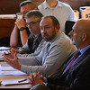 KRISTOPHER RADDER — BRATTLEBORO REFORMER<br /> Officials hold a meeting about the future of Route 9, in Marlboro, on Friday, Oct. 4, 2019.