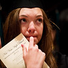 N0529NEWVISTA5.jpg N0529NEWVISTA5<br /> Charlotte Bond listens to the speeches during the New Vista High School graduation ceremony held at Chautauqua auditorium on Saturday May 28th, 2011.<br /> <br /> Photo by: Jonathan Castner