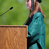 20110528_NHS_8.jpg Niwot class of 2011 student body president Annick Pearson delivers her speech Saturday, May 28, 2011. (Joshua Buck/Times-Call)