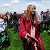 20110528_SCHS_1.jpg Silver Creek graduate Kirstie Baer is on the receiving end of a silly string shower by her family and friends Saturday, May 28, 2011. (Joshua Buck/Times-Call)