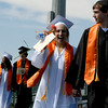 20110528_ERIE_GRAD_2.jpg Two graduates walk into commencement Saturday May 28, 2011 at Erie High School. (Kimberli Turner/Times-Call)