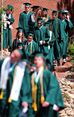 20110528_NHS_7.jpg Niwot graduates file into the field for their commencement ceremony Saturday, May 28, 2011. (Joshua Buck/Times-Call)