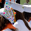 20110528_ERIE_GRAD_8.jpg Bridget Sutton wears a decorated cap during commencement Saturday May 28, 2011 at Erie High School. (Kimberli Turner/Times-Call)