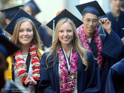 during Pleasant Valley High School class of 2015 graduation ceremonies at Asgard Yard in Chico, Calif. Thursday, June 4, 2015. (Bill Husa -- Enterprise-Record)