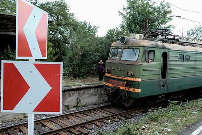 Georgian Railways train.