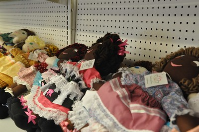 ASHLEY FOX / GAZETTE The dolls are in different colors to give to different ethnicities, as well as boy dolls.