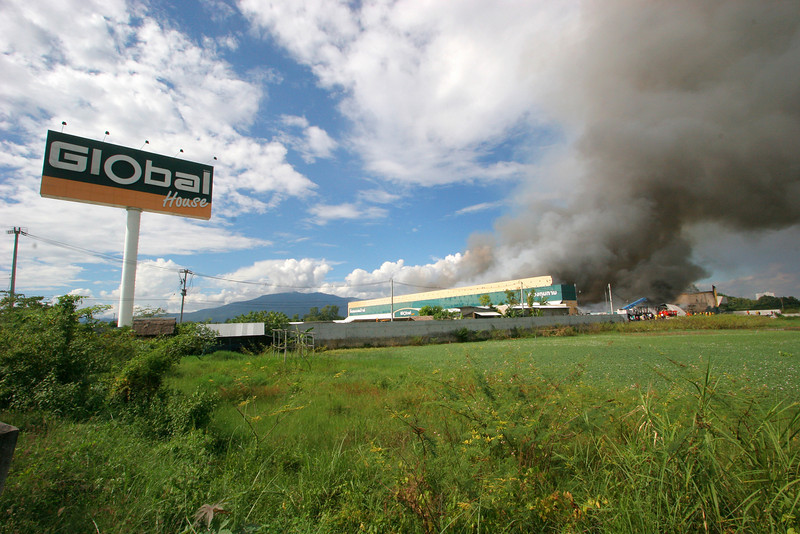 Global House Fire 6 Nov 2008