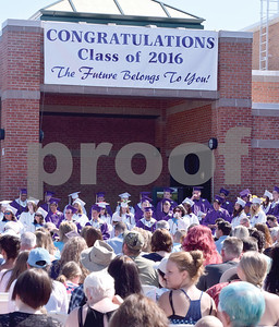 Sodus Central School Class of 2016 held their Graduation ceremony outside of the school's entrance Saturday morning, June 25th.