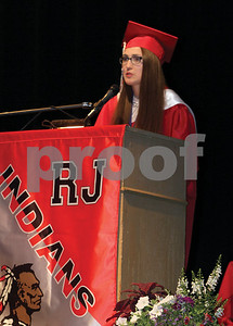 2016 Manchester-Shortsville Central School graduate, Emily Gray delivers herValedictorian Address.