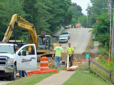 Guilford Boulevard construction work