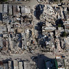 In this photo released by the United Nations, buildings affected by an earthquake lay in ruins in downtown Port-au-Prince, Haiti, Wednesday, Jan. 13, 2010.  A 7.0-magnitude earthquake struck Haiti Tuesday.  (AP Photo/United Nations, Logan Abassi)
