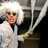 "Sawyer Bauman plays Doctor Hairy Henson in the haunted house at the Halloween Party at the Arapahoe Center YMCA in Lafayette.<br /> Photo by Paul Aiken Monday Oct 24, 2011 For more photos from the halloween party go to  <a href=""http://www.dailycamera.com"">http://www.dailycamera.com</a>."