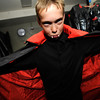 "Michael Haptonstall plays a vampire in the haunted house at the Halloween Party at the Arapahoe Center YMCA in Lafayette. For more photos from the halloween party go to  <a href=""http://www.dailycamera.com"">http://www.dailycamera.com</a>.<br /> Photo by Paul Aiken Monday Oct 24, 2011"