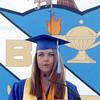 Kristen Leenerman gives the Summa Cum Laude address during Saturday's Broomfield High School graduation ceremony at Elizabeth Kennedy Stadium.<br /> May 21, 2011<br /> staff photo/David R. Jennings